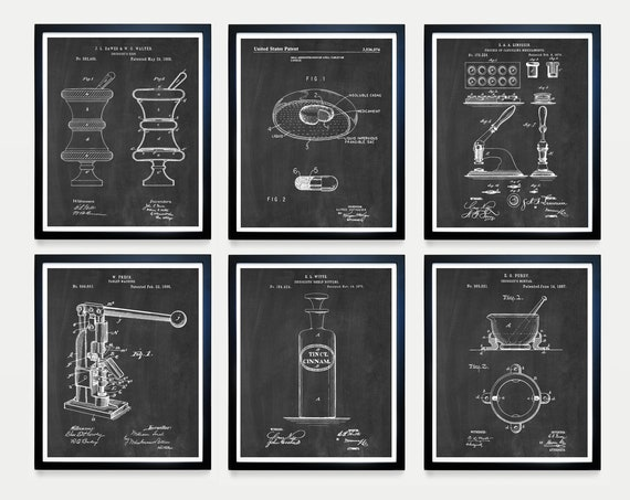 Drugstore Patent Art - Pharmacist Patent - Pharmacy - Bio - Medicine - Pharmacist Art - Pill Patent - Drugstore Invention - Medicine Art Doc