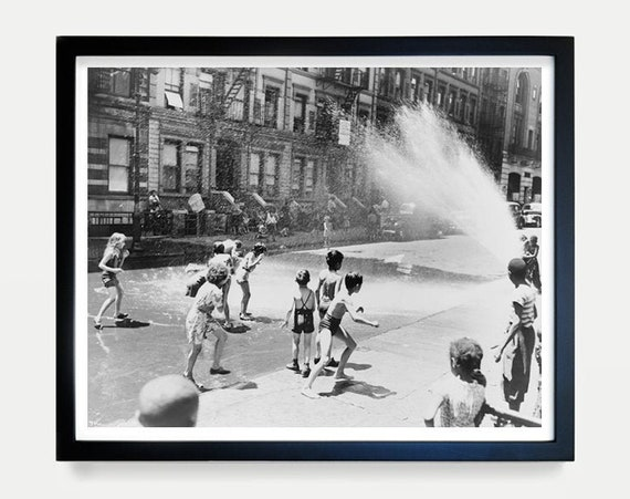 Summer in the City Photograph - New York City Art - Fine Art Photography - Cityscape - New York Art - New York City Poster - City Kids