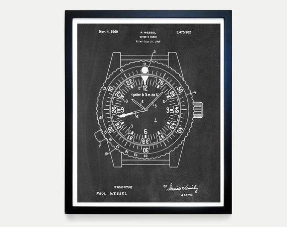 Rolex Patent Poster - Watch Art - Watch Poster - Rolex Art - Rolex Poster - Rolex Patent Art - Watch Patent - Watch Patent Poster - Wrist