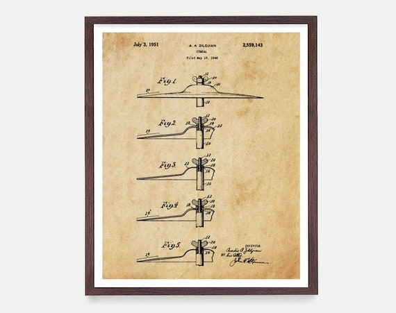 Drum Cymbal - Drum Poster - Drum Art - Drummer - Drumming Patent - Percussion - Marching Band - Music Art - Drum Patent Art - Zildjian Drum