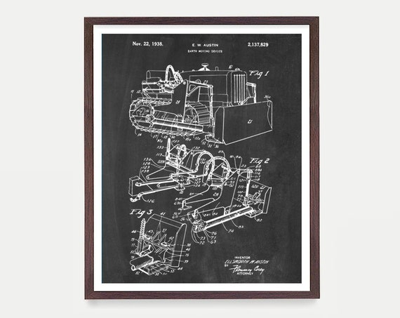 Construction Patent Art, Crane Patent Print, Crane Poster, Crane Art, Construction Art, Construction Poster, Architecture, Building