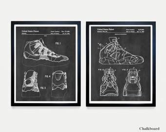 ba607af2941729 Nike Air Jordan Sneaker Patent Art - Sneaker Art - Sneaker Poster - Nike  Poster - Air Jordan - Air Jordan Art - Retro Sneaker - Nike Shoes