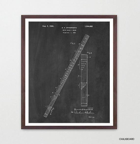 Math Class - Math Patent - Math Poster- Classroom - Math Art - Engineer - Engineering - Mathlete - Math Art - Ruler - Ruler Patent - Canvas