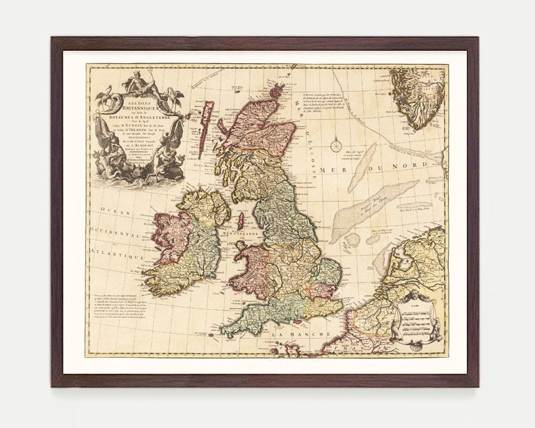 Map Of England Please.England Map England Map Art Map Decor Vintage Map Great