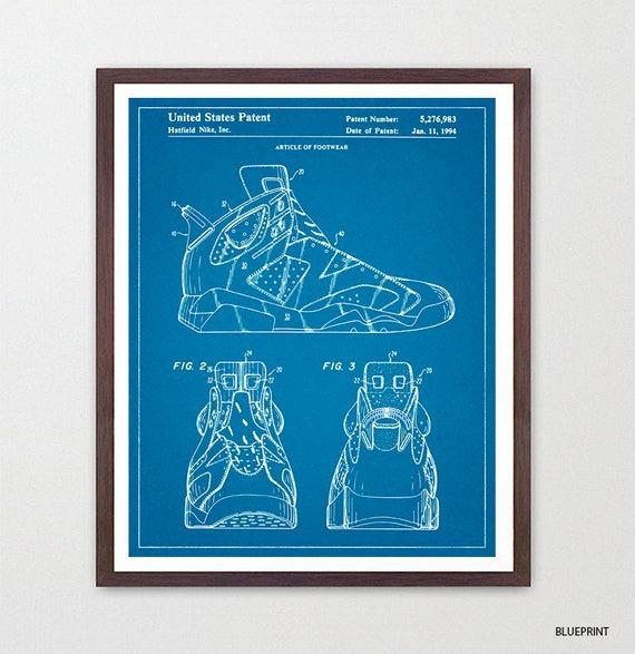 Nike Air Jordan 6 - Nike Shoes - Nike Sneakers - Air Jordans - Air Jordan Patent - Nike Patent - Nike Poster - Nike Art - Sneaker Art - Shoe
