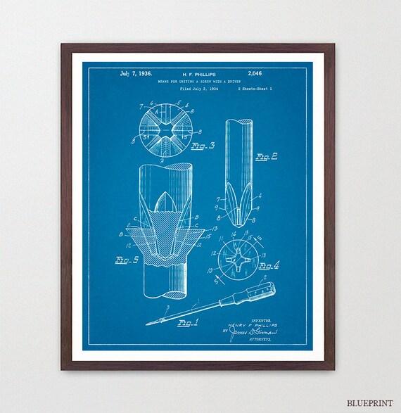 Screw Driver - Screw Driver Poster - Tool - Tools - Vintage Tools - Tool Art - Tool Poster - Workshop - Garage - Garage Art - Man Cave Art