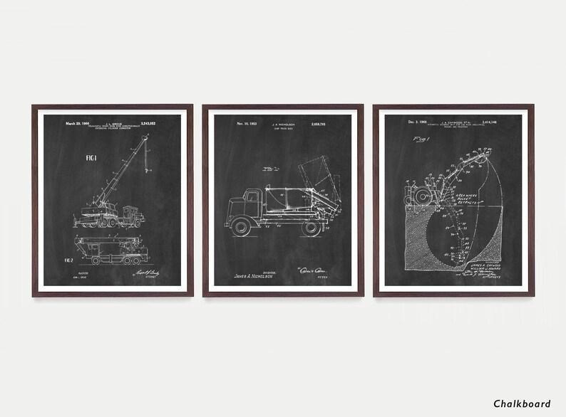 Construction Art  Construction Patent  Construction Patent Chalkboard