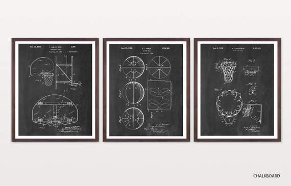 Basketball Patent Art - Basketball Art - Basketball Poster - Basketball - Hoop - Basketball Wall Art - March Madness - Basketball Gift