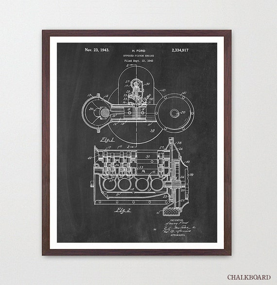 Henry Ford - Ford Patent - Engine - Ford Motors - Automobile Poster - Mechanic - Ford Patent - Car Poster - Car Patent - Carburetor Patent