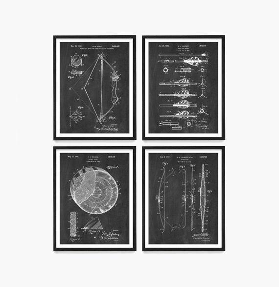 Archery Patent Art, Archery Poster, Archery Art , Archery Wall Art, Compound Bow, Hunting Art, Long Bow, Archery Print, Bow Hunting Art