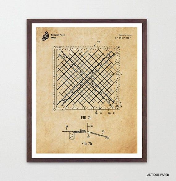 Gymnastics Patent Art - Gymnastics Poster - Gymnast - Gymnast Poster - Gymnast Patent - Olympics - Floor Exercise Patent Art - Gym