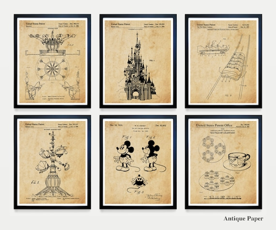 Disneyland Custom Listing, 6 Framed 8x10 Prints