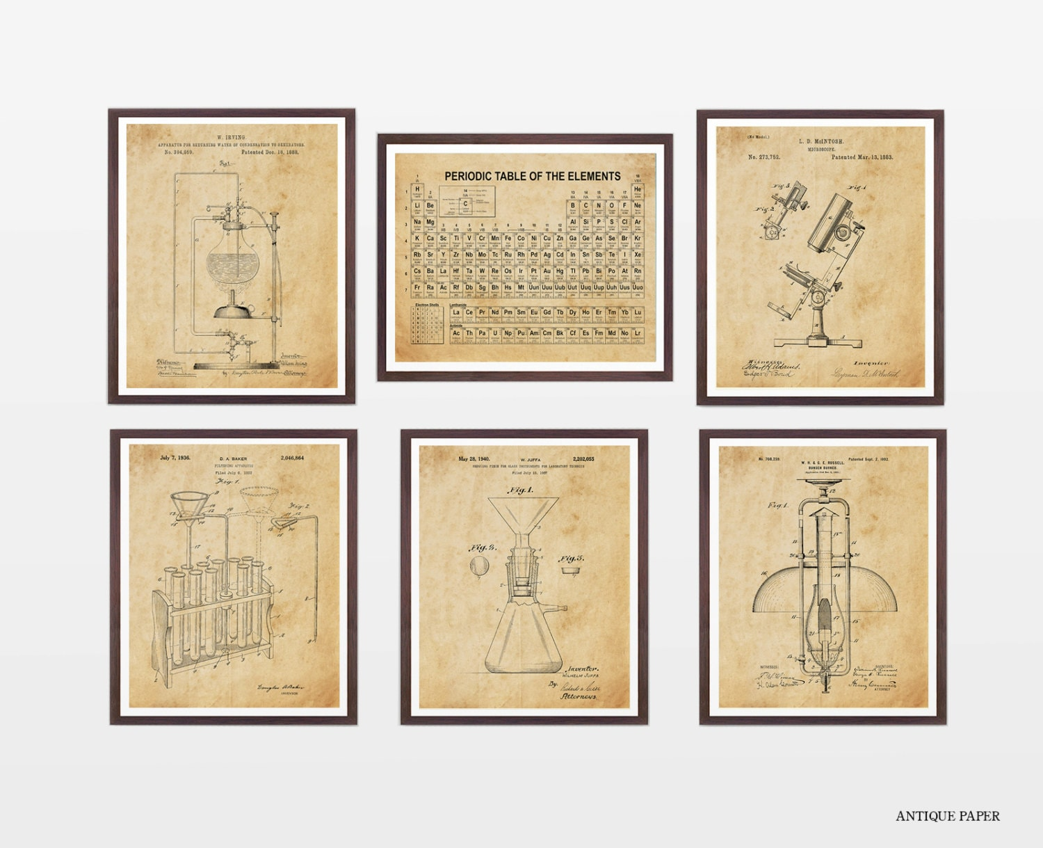 Science Poster Collection - Science Patent - Patent Posters ...