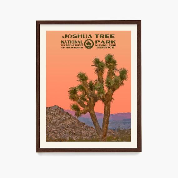 Joshua Tree National Park Poster, National Park Wall Art, National Park Gift, WPA Poster, Joshua Tree Gift, Desert Art, Desert Home Decor