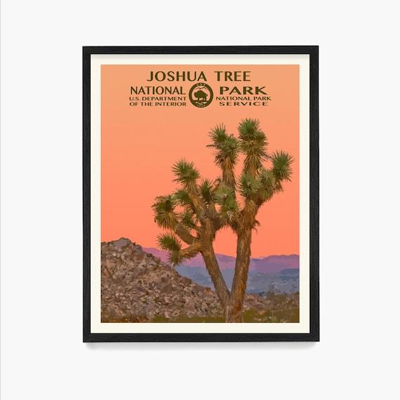 Joshua Tree National Park Poster- Joshua Tree National Park - National Park Art - WPA - WPA Poster  WPA Art - Joshua Tree Art - Desert Art