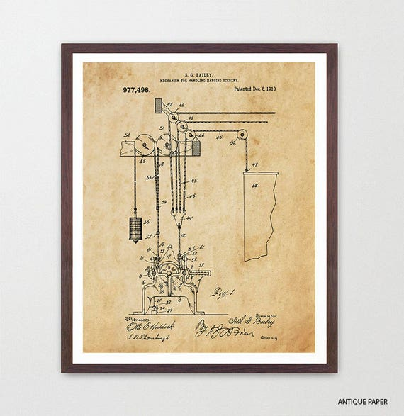Theater Scenery Patent, Musical Theater Poster, Theater Art, Theater Decor, Broadway, Broadway Musical, Playbill, Actress, Theater Gift