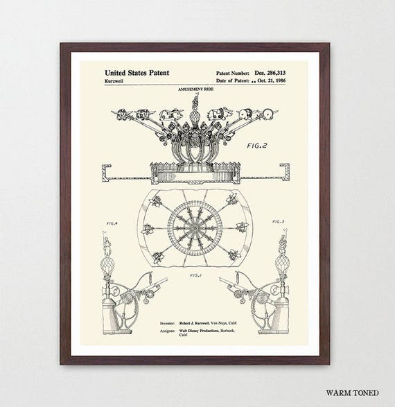 Disneyland Patent - Disneyland Patent Art - Dumbo - Disneyland Art - Disneyland - Disney World Art - Girls Room Art - Girls Room Poster