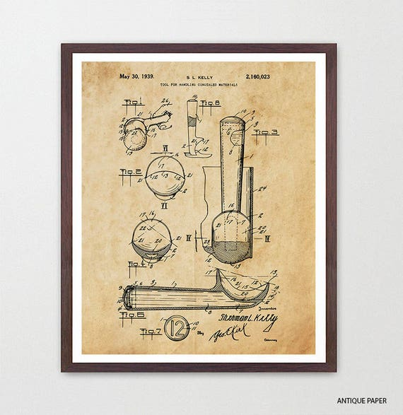 Ice Cream Scoop Patent - Ice Cream Art - Ice Cream Cone - Ice Cream Scoop - Ice Cream Shop - Ice Cream Poster - Ice Cream Wall Art - Choco