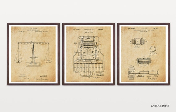 Law Patent Poster - Law Art - Law School Grad - Attorney Art - Lawyer Art - Law Patent Art - Law Decor - Lawyer Poster - Law Office - Gavel