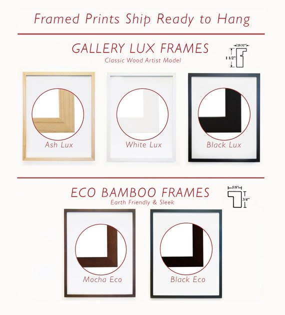 Custom Frame - 11x14 White Lux