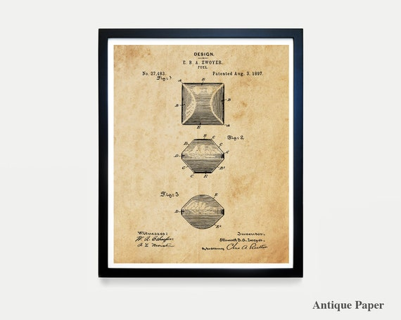 BBQ Patent - BBQ Wall Art - BBQ Poster - Barbecue - Grill Art - Barbecue patent - Barbecue Poster - Charcoal Briquette - Grilling Poster