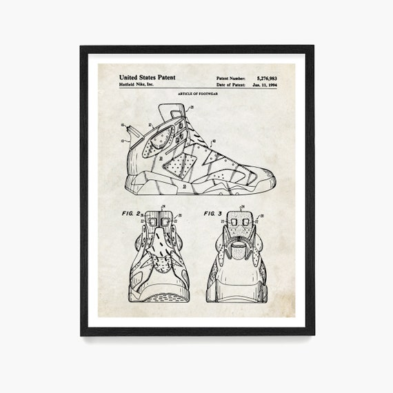 Nike Air Jordan 6 Patent Poster, Nike Shoes, Nike Sneakers, Air Jordan Patent, Nike Patent, Nike Poster, Nike Art, Sneaker Art