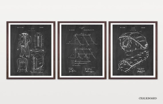Camping Art - Camping Poster - Camping Patent - Camp Patent - Tent Patent - Tent Art - Tent Poster - Sleeping Bag - Pack - Hiking Poster