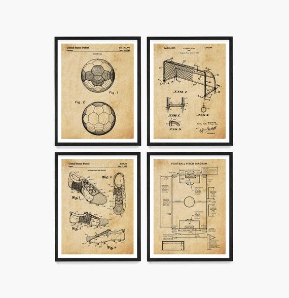 Soccer Patent Art, Soccer Poster, Football Patent, Soccer Wall Art, Soccer Ball , Soccer Ball Patent, Soccer Art, Football, Soccer Gift
