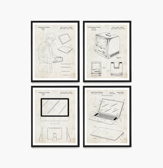 Custom Apple Patent Prints