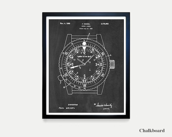 Rolex Patent Poster - Watch Art - Watch Poster - Rolex Art - Rolex Poster - Rolex Patent Art - Watch Patent - Watch Patent Poster - Wrist