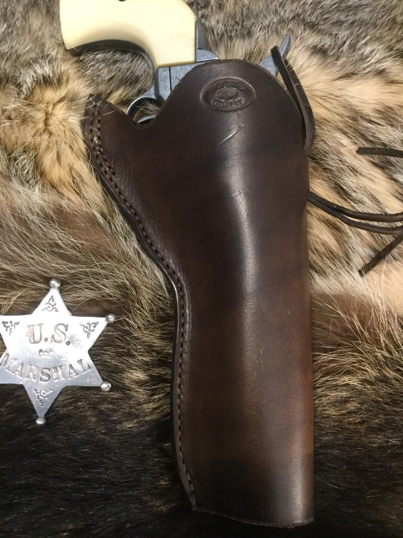 Western Single Action Revolver Holster, fits up to a 5 1/2