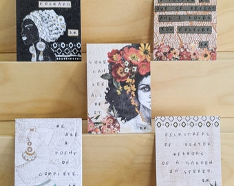 Buddy Wakefield Boxed Card Set, Buddy Wakefield Quote Art Cards