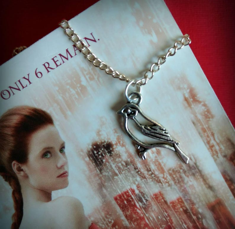 The Selection Series inspired Songbird Necklace image 0