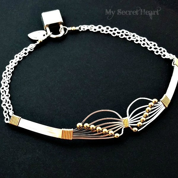 Butterfly Collar Wire Wrapped Submissive Locking Day Collar  Etsy-8482