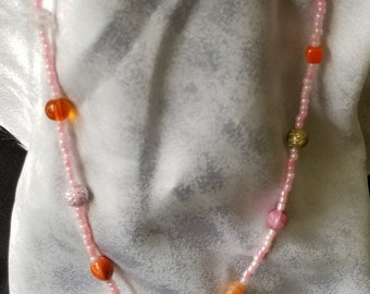 adjustable bead necklace