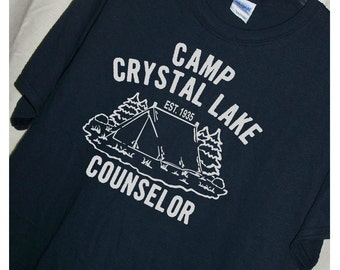 f9a6391eb0c FRIDAY THE 13TH Camp Crystal Lake Counselor T Shirt