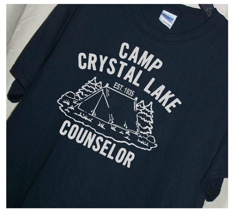 482dfa47e6a4 FRIDAY THE 13TH Camp Crystal Lake Counselor T Shirt