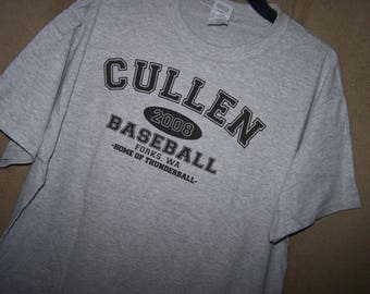 TWILIGHT CULLEN BASEBALL Forks T Shirt