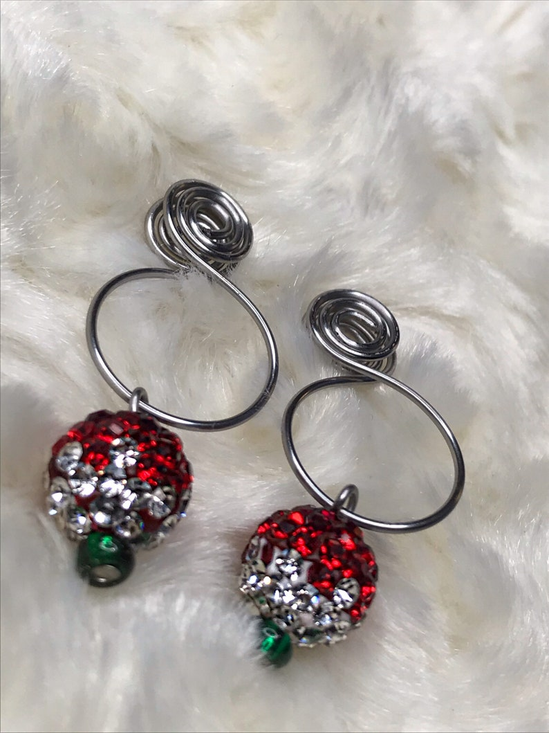 Stainless Steel Faux Nipple Ring Fake Nipple Piercing Christmas Nipple Clip Adornment