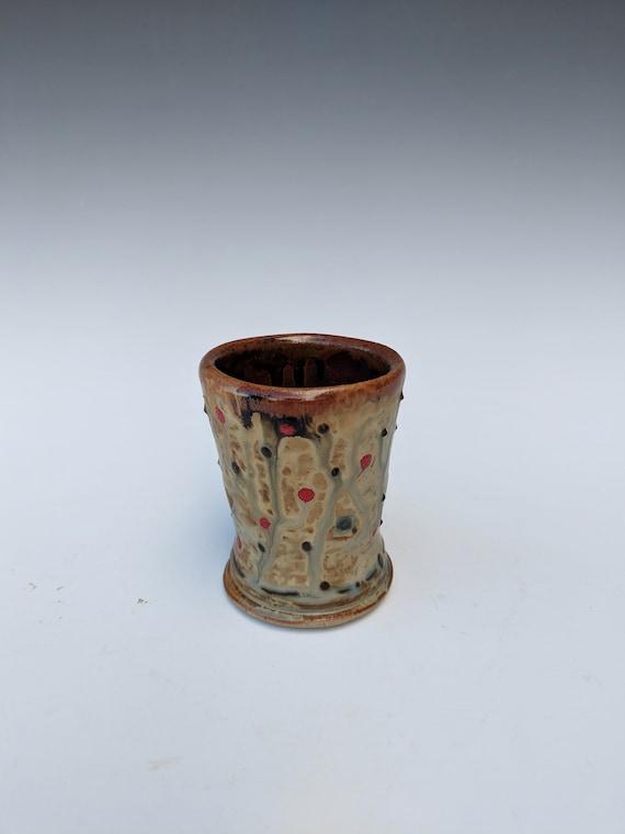 Handmade ceramic  Cordial Glass