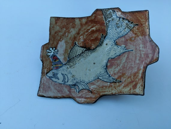 Handmade Ceramic Ring Tray, by Michelle Hinton