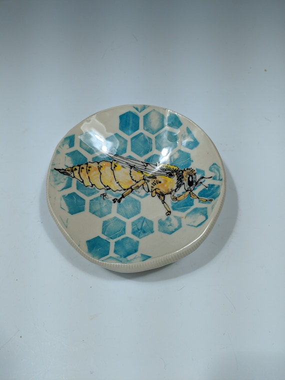 Handmade Ceramic Trinket Bowl, by Michelle Hinton