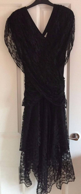 Futures 1980s Vintage Original Black Lace Madonna