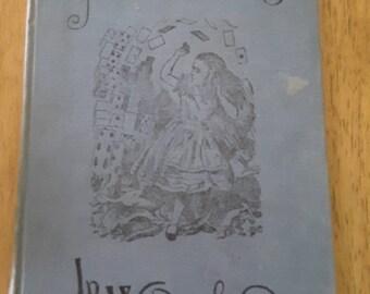 Alice's Adventures in Wonderland vintage 1902 hardcover