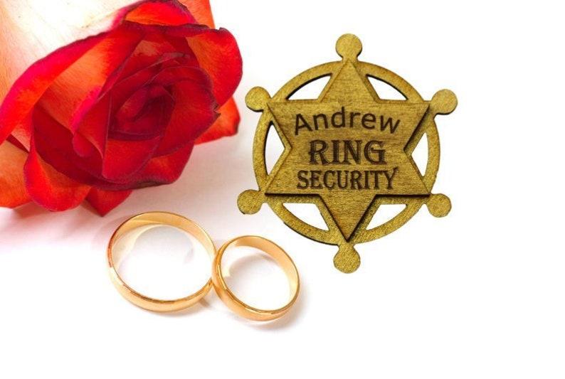 ring bearer idea ring security ring bearer sign ring security sign Ring security badge ring boy gift ring boy badge ring boy ideas