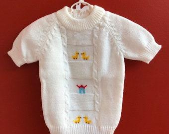 4215af9f9a5e Boys duck sweater