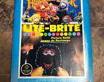 picture relating to Lite Brite Refill Sheets Printable Free named Lite brite Etsy