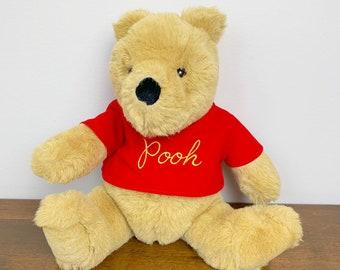 95bbba491d Vintage 1990s 90s Large Winnie the Pooh Gund Stuffed Plush Bear Doll!