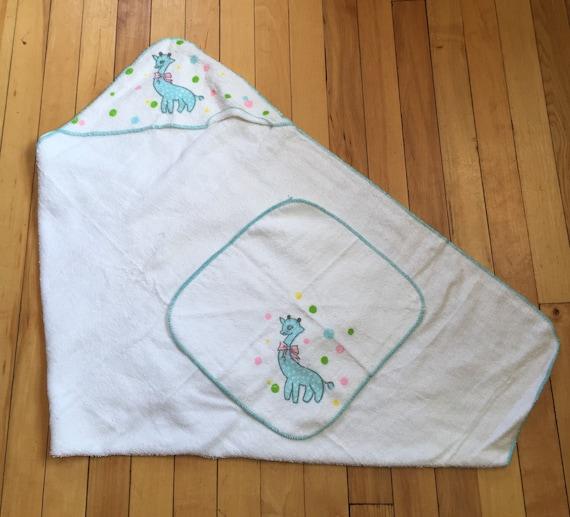 Vintage 1950s Baby Infant Sleeptite Terry Cloth Ho