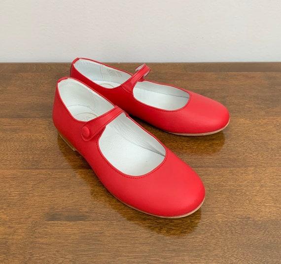DOGI Girls Black T-Strip Mary Jane Shoes Size 13.5